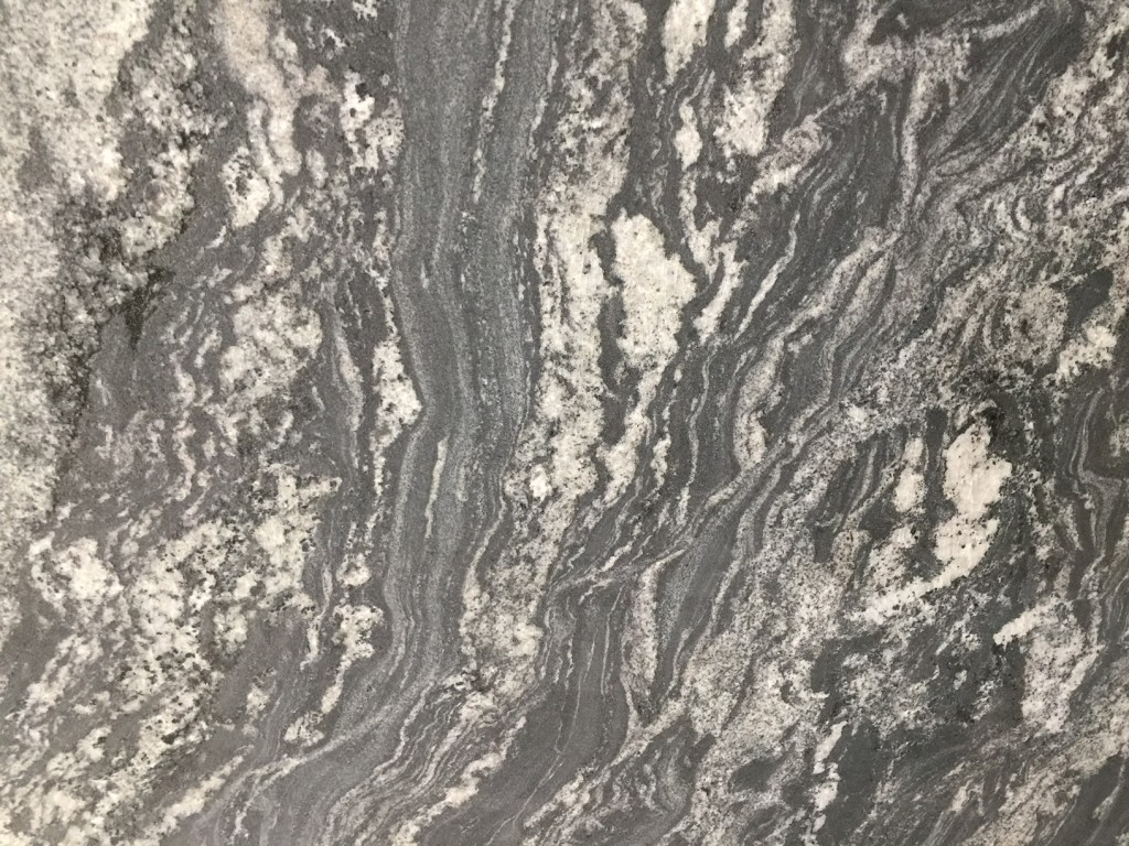Flower Grey Granite Slabs