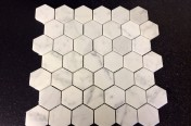 Carrara Marble Tiles Hexagon