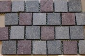 Porphyry on Mesh Paving Tiles