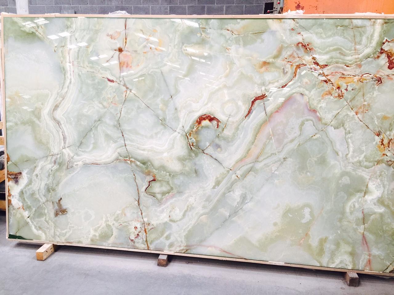 Light Green Marble : Light green onyx tile roselawnlutheran