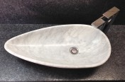 Carrara Marble Oval Sink