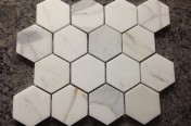 Calacatta Hexagon Tiles