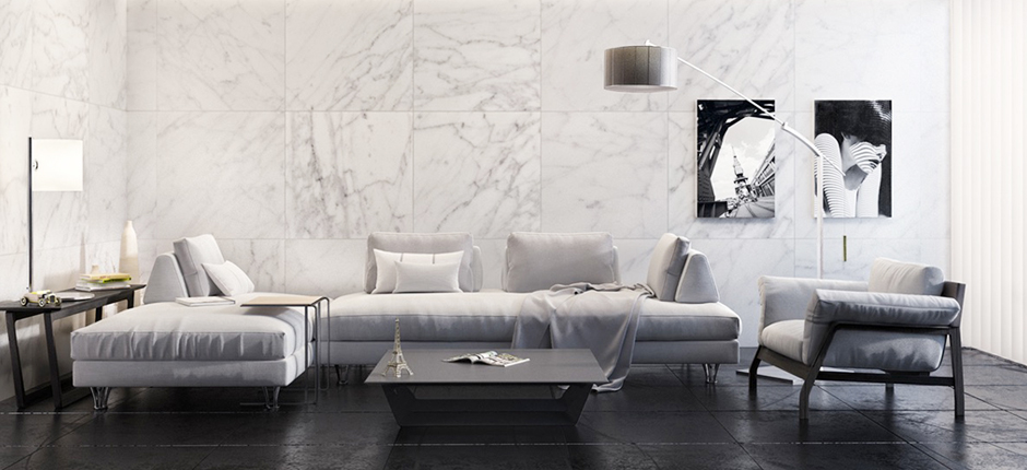 Natural Stone Slabs Sydney, Stone Tiles Sydney, Natural Stone Pavers, Marble, Travertine, Limestone, Granite & Onyx - Carrara Marble & Granite