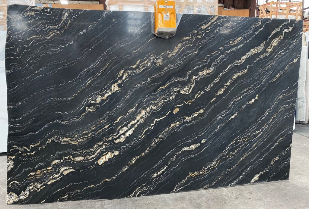 Black Portoro Granite
